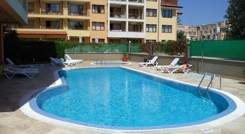 Holidays at Darius Apartments in Sunny Beach, Bulgaria