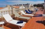 Sun Loungers on Roof Top Terrace at El Cabo Hotel