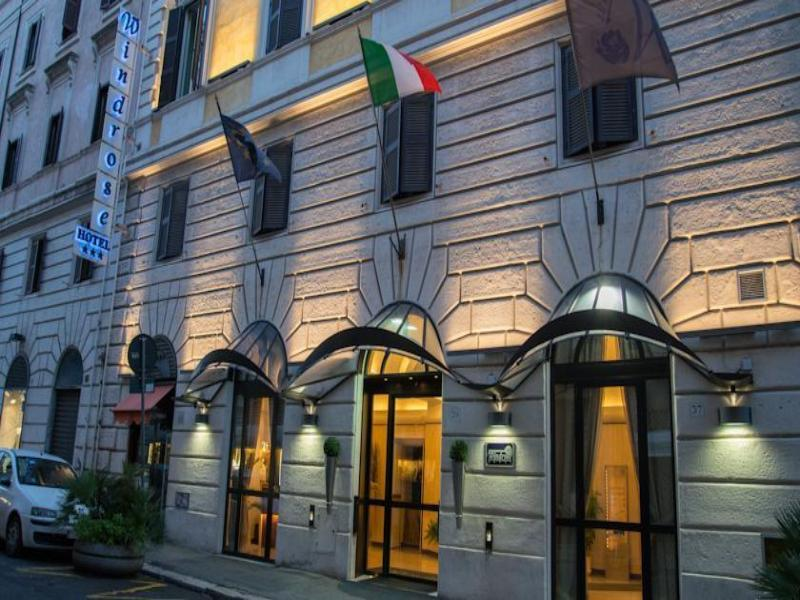 Holidays at Windrose Hotel in Rome, Italy