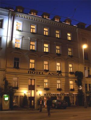 Holidays at Andel Hotel in Prague, Czech Republic