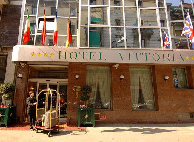 Holidays at Vittoria Hotel in Milan, Italy