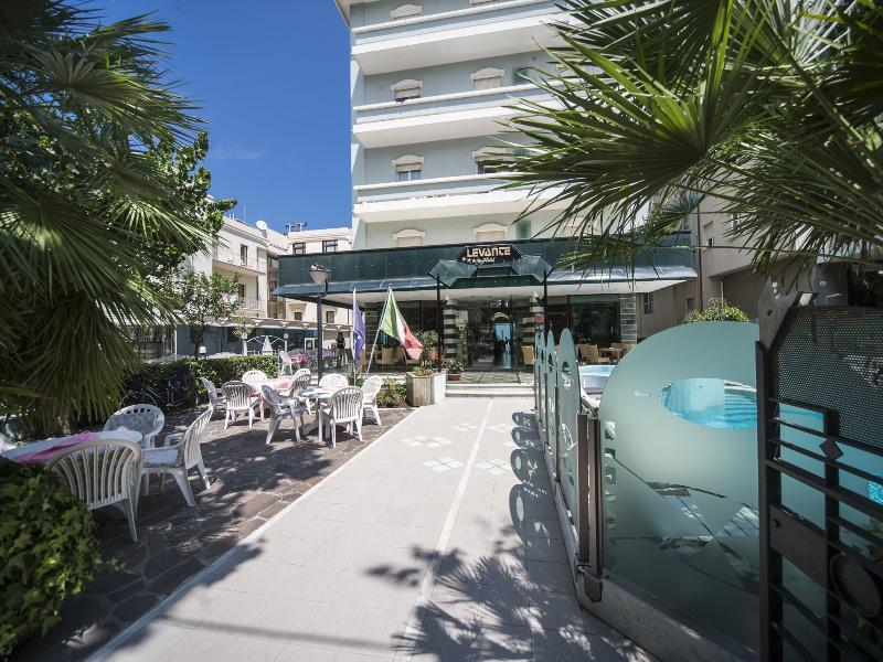 Holidays at Levante Hotel in Rimini, Italy