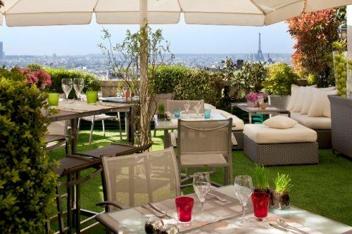 Holidays at Terrass Hotel Montmarte in Montmartre & Sacre Coeur (Arr 18), Paris