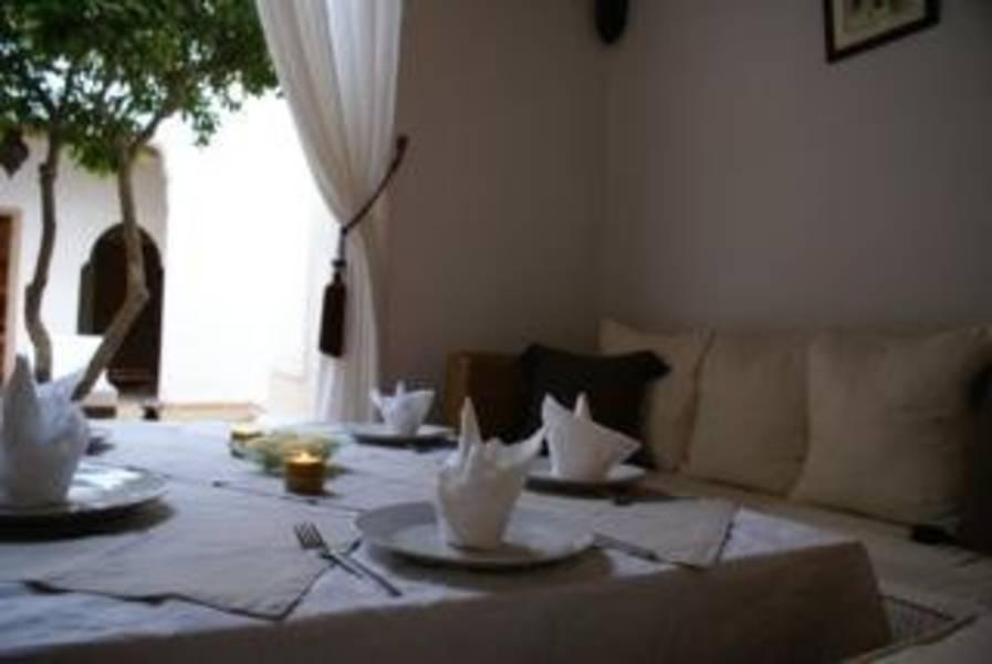 Holidays at Riad Les Orangers d'Alilia in Marrakech, Morocco