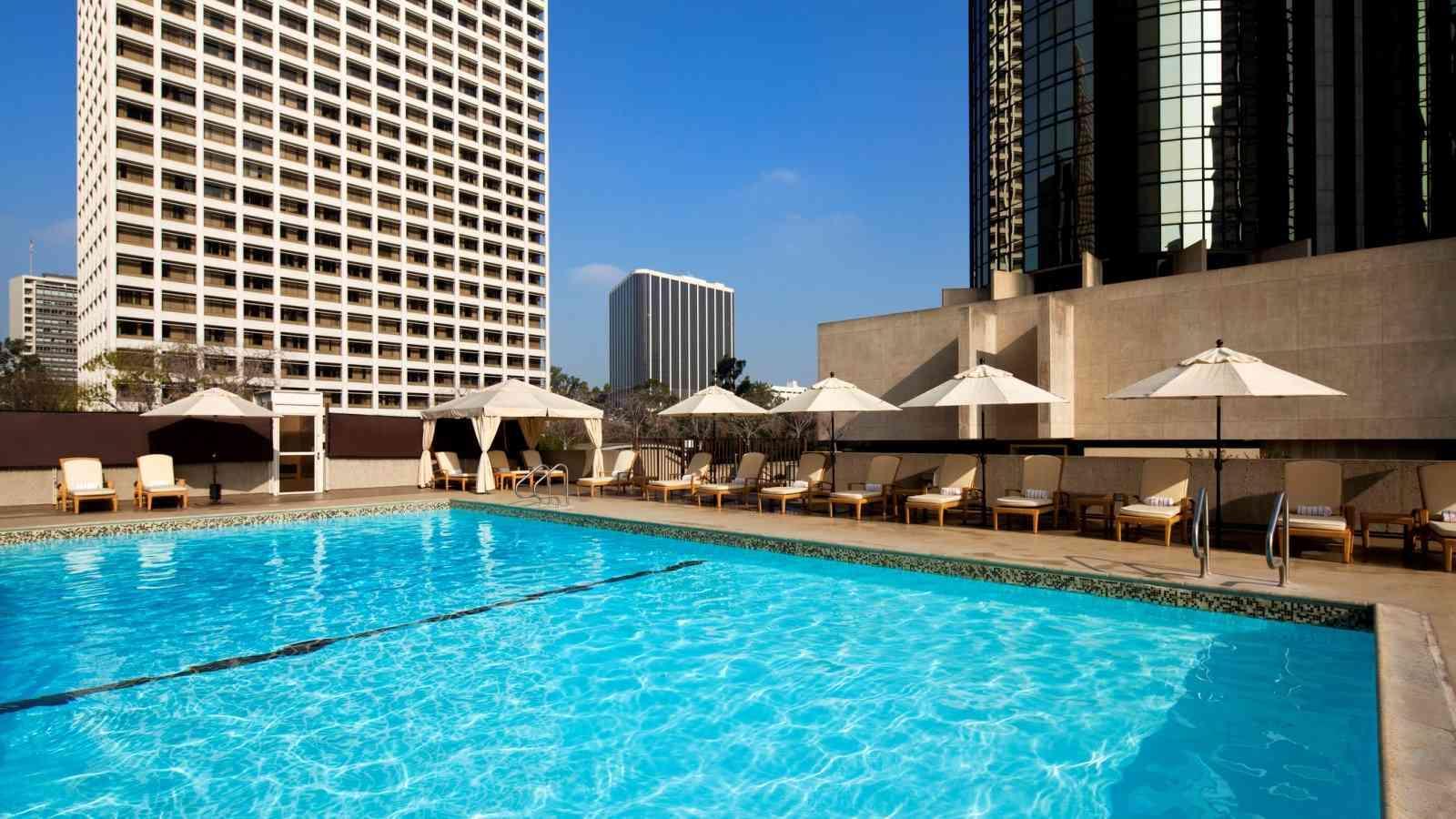 Holidays at Westin Bonaventure Hotel & Suites in Los Angeles, California
