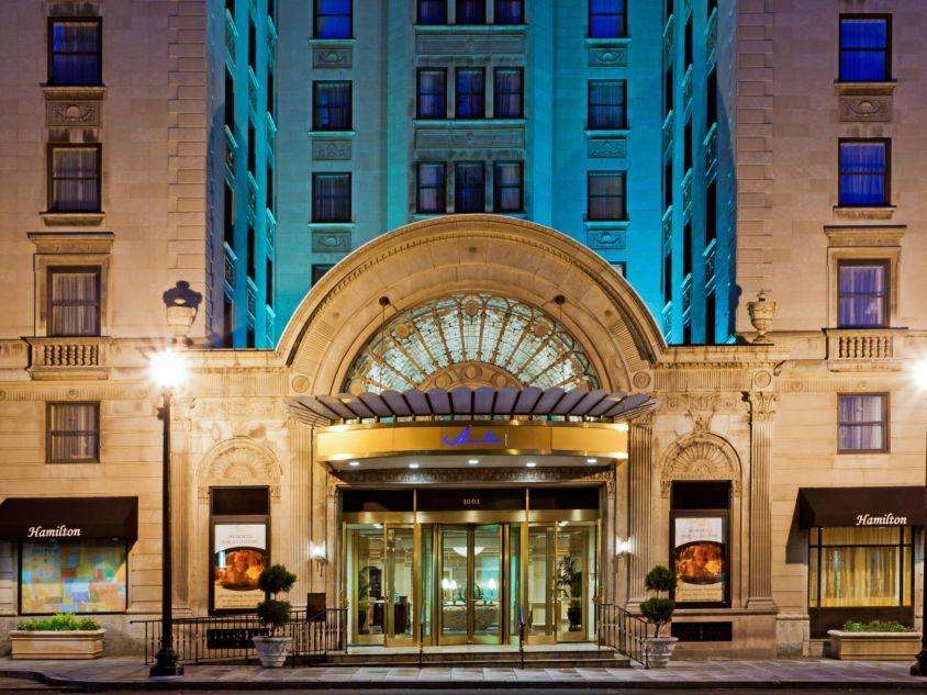 Holidays at Hamilton Crowne Plaza Hotel in Washington DC, District Of Columbia