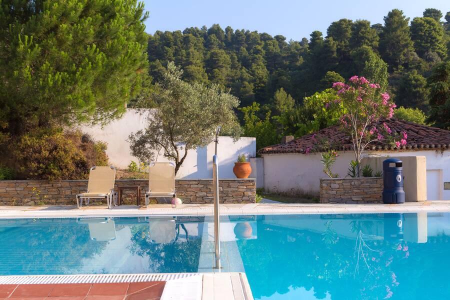 Holidays at Kanapitsa Mare Hotel & Spa in Kanapista, Kolios Beach
