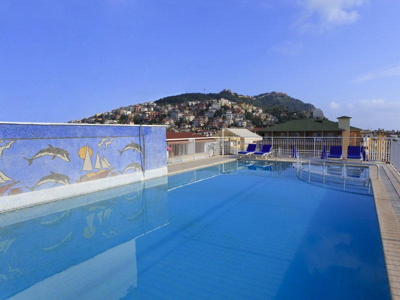 Holidays at Kleopatra Aytur Aparthotel in Alanya, Antalya Region