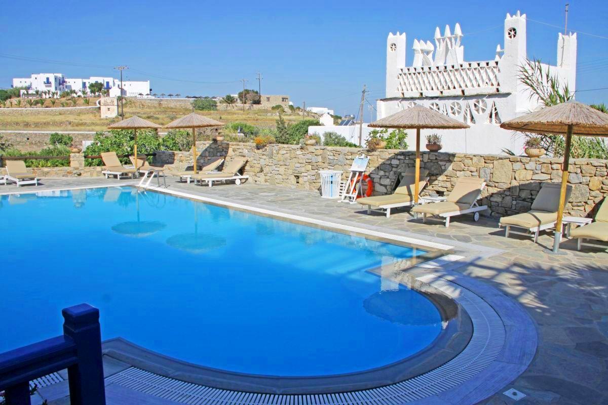 Holidays at Vienoulas Garden Hotel in Mykonos Town, Mykonos