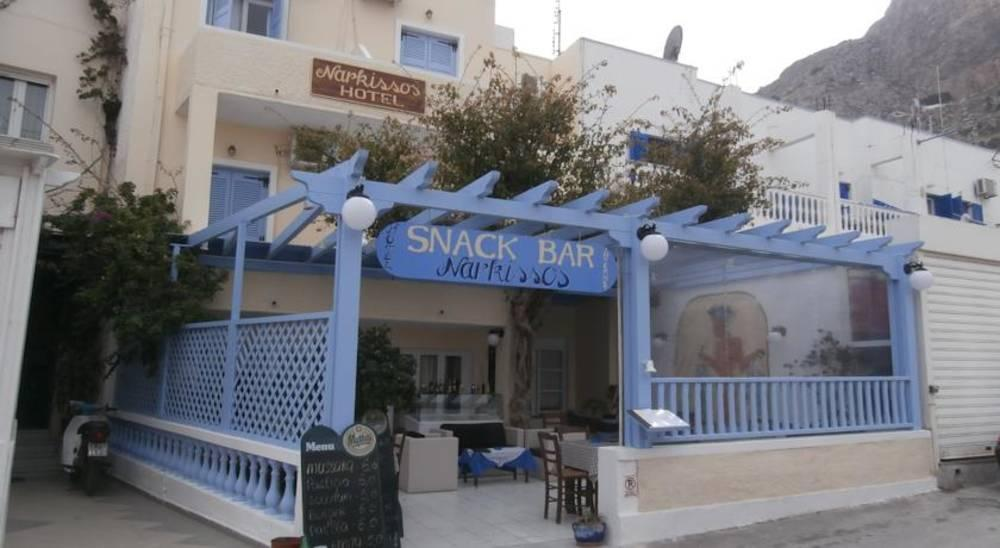 Holidays at Narkissos Hotel in Kamari, Santorini