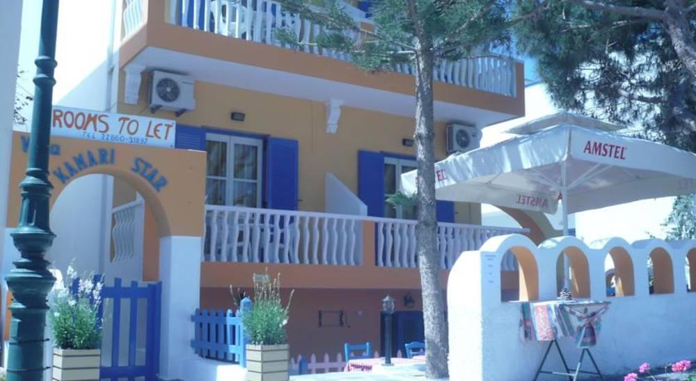 Holidays at Villa Kamari Star Hotel in Kamari, Santorini