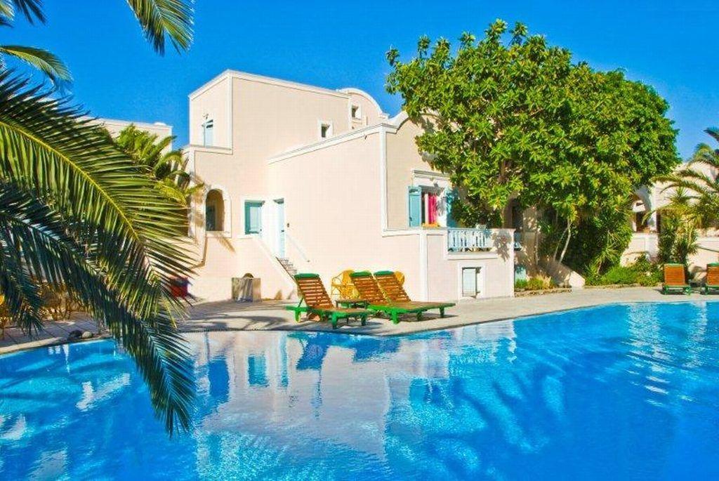 Holidays at Strogili Hotel in Kamari, Santorini