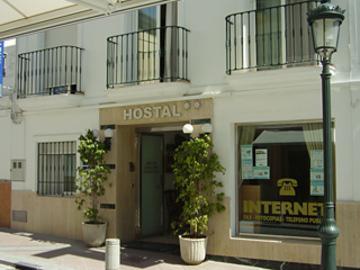Holidays at Abril Hostal in Nerja, Costa del Sol