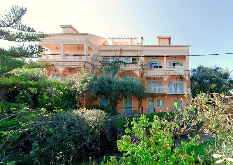 Holidays at Villa Anna Castello Apartments in Kato Korakiana, Dassia