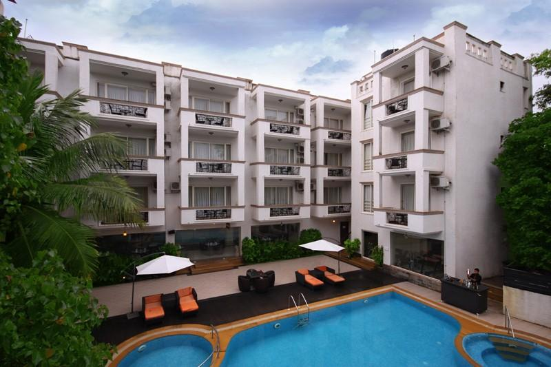 Holidays at Opus By Meraden Hotel in Anjuna Beach, Goa