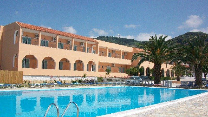 Holidays at Alkyon Beach Hotel in Aghios Georgios North, Corfu