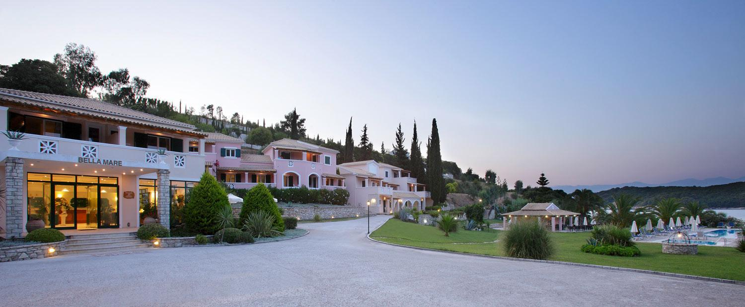 Holidays at Bella Mare Hotel in Kassiopi, Corfu
