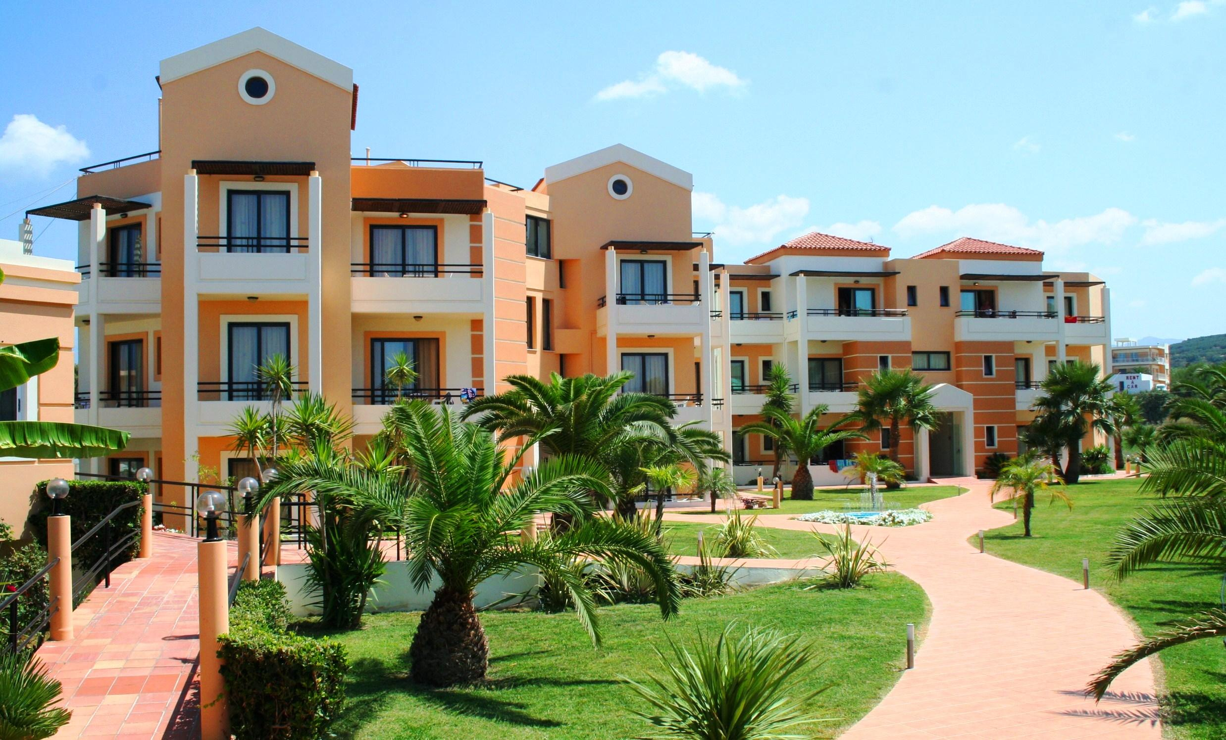 Holidays at Mike Hotel and Apartments in Maleme, Crete