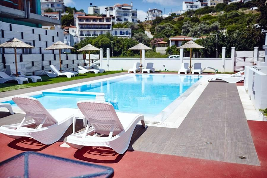 Holidays at Skiathos Somnia Apartments in Skiathos Town, Skiathos