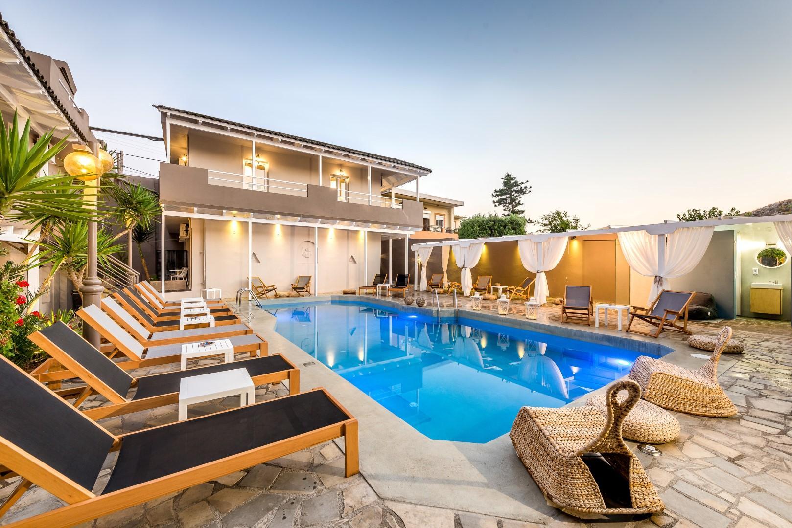 Holidays at Anemos Suites in Karteros, Heraklion