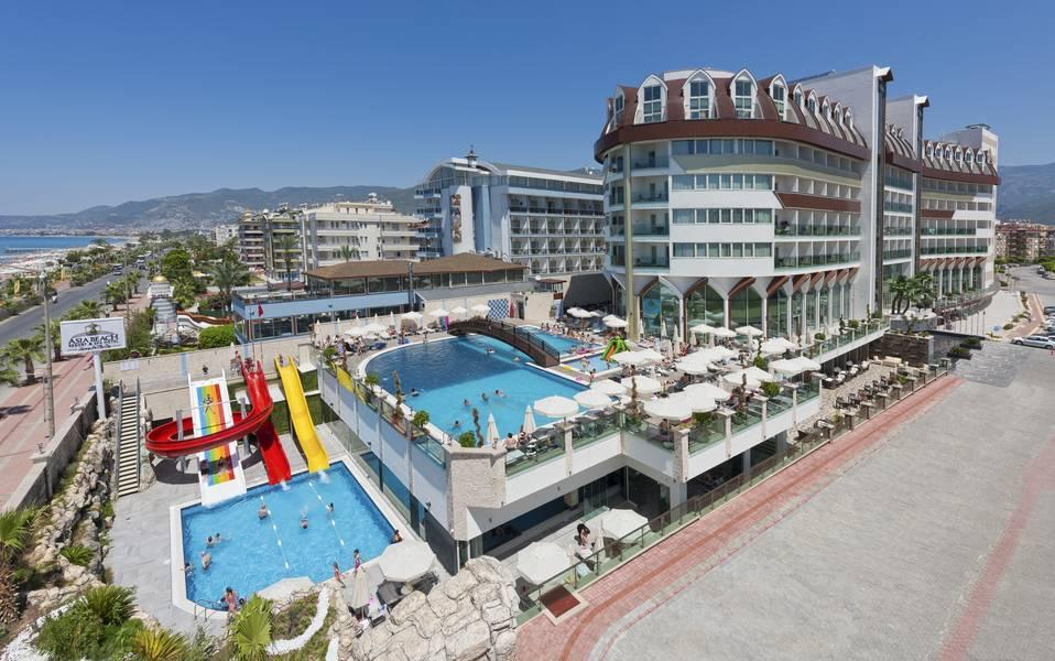 Holidays at Asia Beach Resort Hotel And Spa in Alanya, Antalya Region