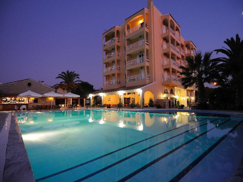 Holidays at Sunset Hotel in Alykes Potamou, Corfu
