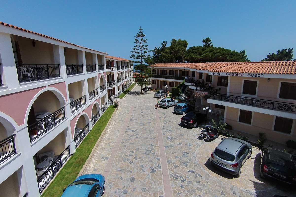 Holidays at Castello Beach Hotel in Argassi, Zante