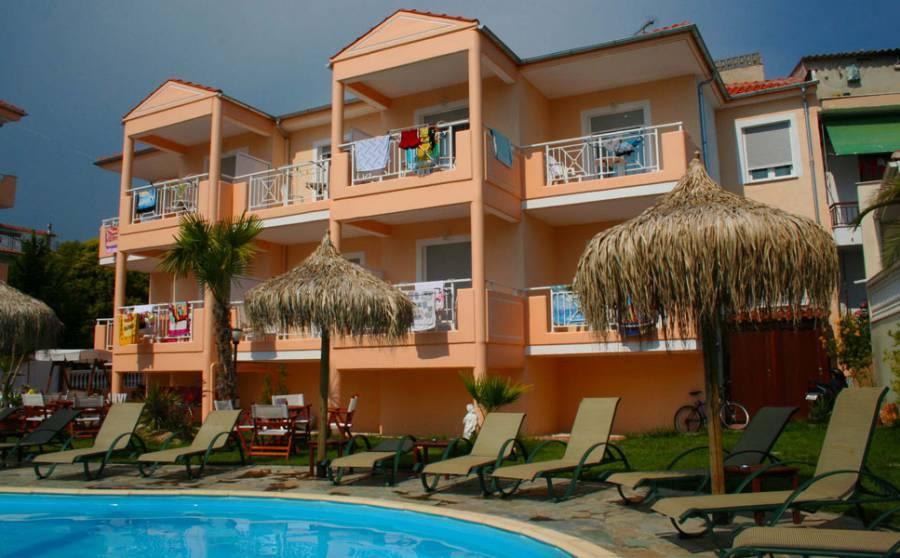 Holidays at Potos Hotel in Limenaria, Thassos Island