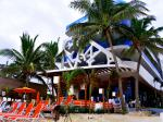 Beach Front Loungers at The Carmen Hotel