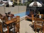 Sun-Loungers and Bar Seating at Monte Carlo Park Hotel