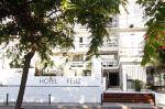 Entrance of Feliz Hotel
