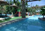 Pool and Small Childrens Play Area at Petrino Horio, Stone Village