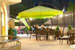 Outdoor Terrace at Aqua View Hotel
