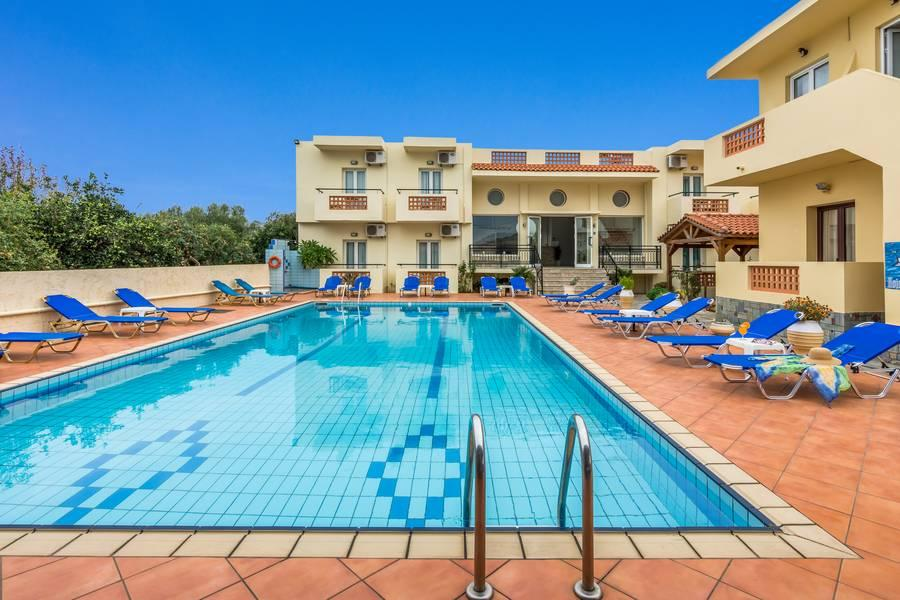 Holidays at Maria Family Hotel Sissi in Sissi, Crete