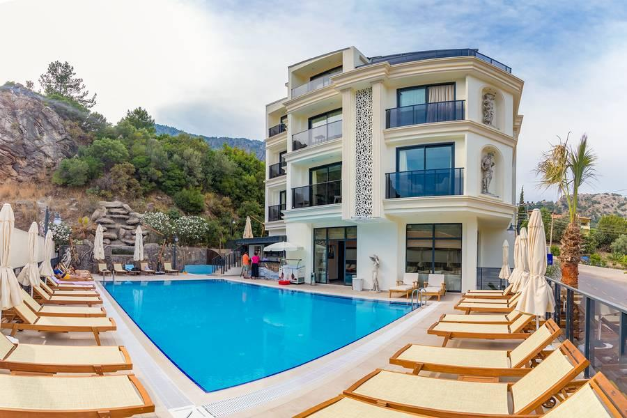 Holidays at Amossia Elite Hotel in Marmaris, Dalaman Region
