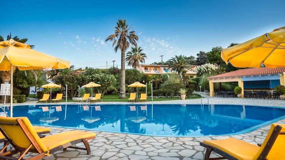 Holidays at Ibiscus Hotel in Roda, Corfu