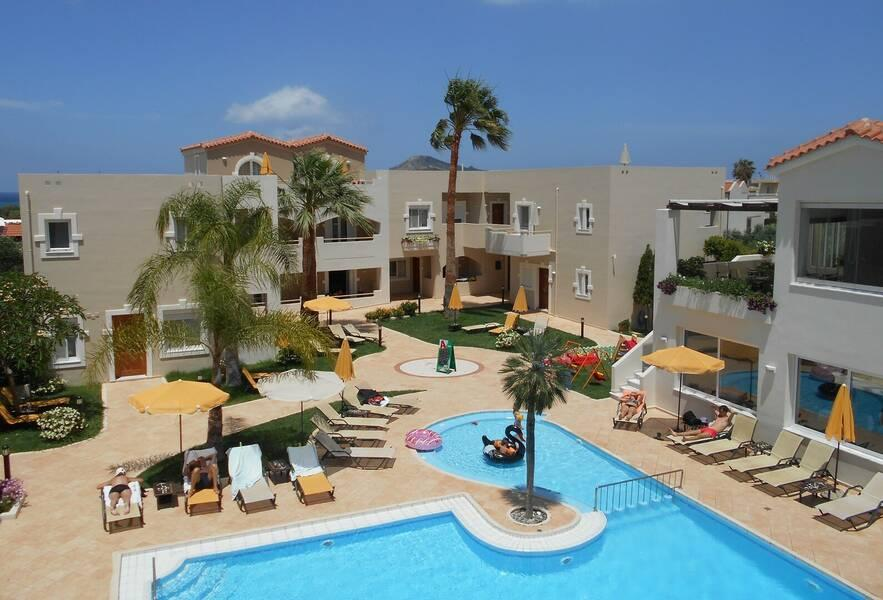 Holidays at Toxo Hotel and Apartments in Platanias, Chania