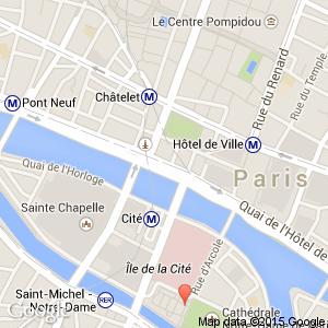 map view of paris where notre dame halles marais arr 2 3