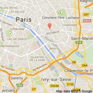 Color design hotel bastille bercy arr 12 13 paris for Color design hotel paris