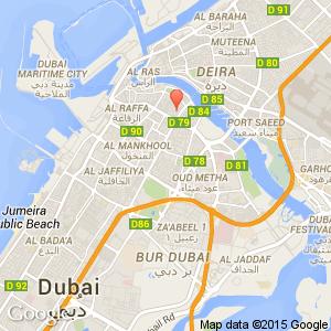 Holiday Inn Bur Dubai Embassy District Dubai United Arab - Us embassy dubai location map