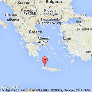 Souda Bay Greece Map Googlesain