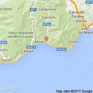 Maiori Italy Map.Reginna Palace Hotel Amalfi Neapolitan Riviera Italy Book