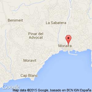 Moraira Spain Map.Moraira Hotels Costa Blanca Spain Book Cheap Moraira Hotels