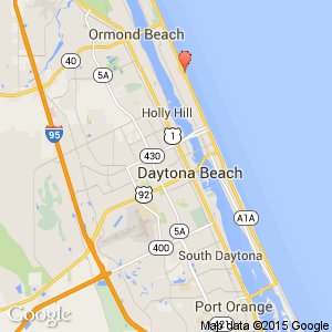 Daytona Beach Map Of Hotels on