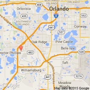 Crowne Plaza Universal Orlando Hotel Orlando International Drive - Mapa florida usa