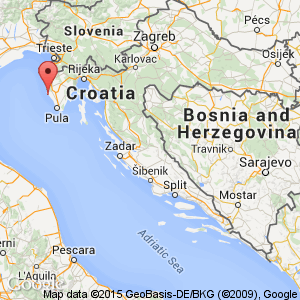 Rovinj hotels croatia book cheap rovinj hotels map view of croatia where rovinj is situated sisterspd