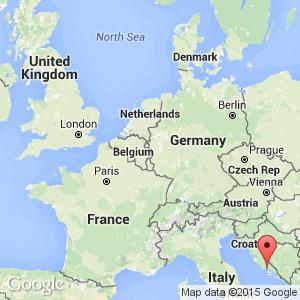 Dating in split croatia map