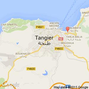 Tangier Medina Map