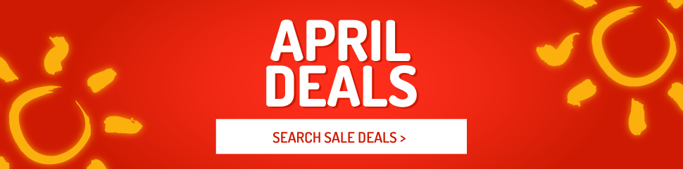 Holiday Deals in April
