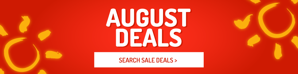 Holiday Deals in August